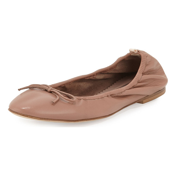 SJP BY SARAH JESSICA PARKER Gelsey bow leather ballerina flat - SJP by Sarah Jessica Parker napa leather ballerina flat. 0....