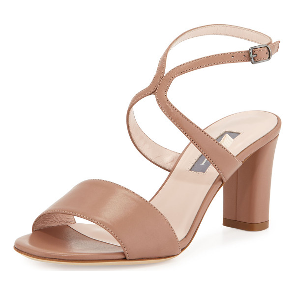 SJP BY SARAH JESSICA PARKER Harmony Leather City Sandal - ONLYATNM Only Here. Only Ours. Exclusively for You. SJP by