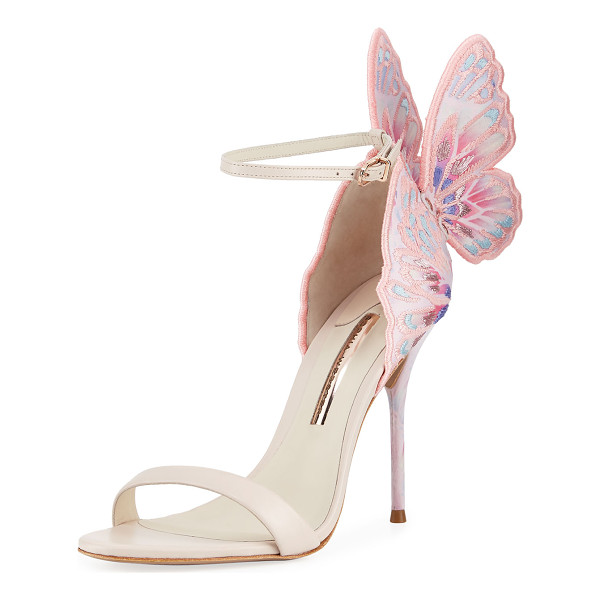 SOPHIA WEBSTER Chiara Embroidered Butterfly Sandal - EXCLUSIVELY AT NEIMAN MARCUS Sophia Webster embroidered...