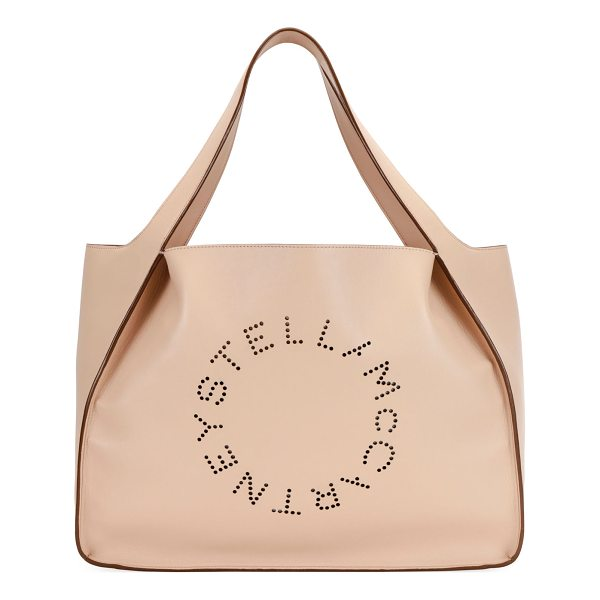 STELLA MCCARTNEY Alter East-West Perforated Tote Bag - Stella McCartney faux-leather...