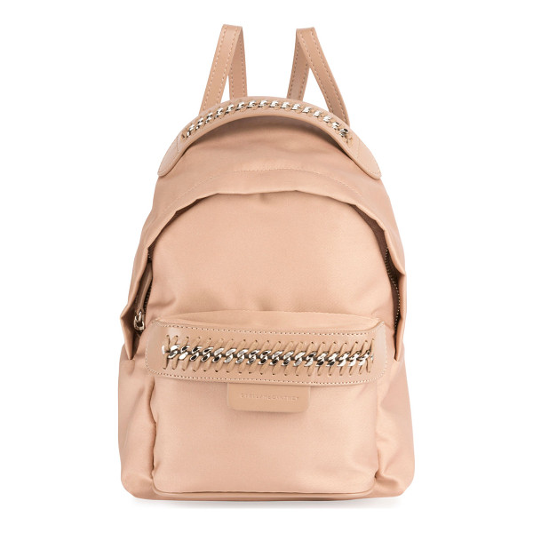 "STELLA MCCARTNEY Eco Nylon Falabella Go Backpack - Stella McCartney eco nylon ""Falabella Go"" backpack...."