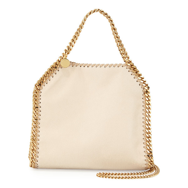 "STELLA MCCARTNEY Falabella mini tote bag - Stella McCartney ""Falabella"" faux-leather (polyester) tote..."