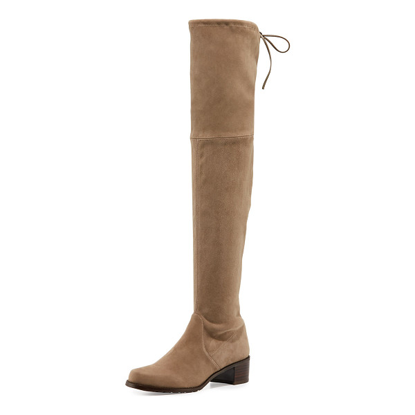 "STUART WEITZMAN Midland Suede Over-the-Knee Boot - Stuart Weitzman suede over-the-knee boot. 24.3""H stretch"