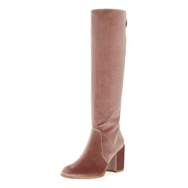 STUART WEITZMAN Suburb Velvet Knee Boot - ONLYATNM Only Here. Only Ours. Exclusively for You. Stuart...