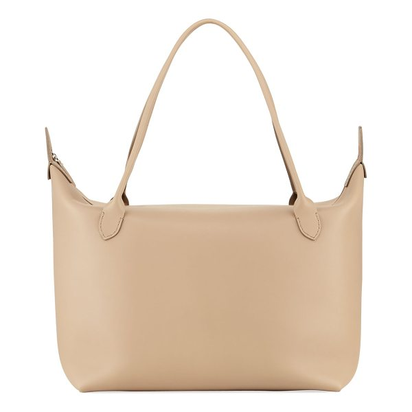 "THE ROW Lux Leather Satchel Bag - THE ROW Lux smooth calfskin satchel bag. Approx. 26""H x..."