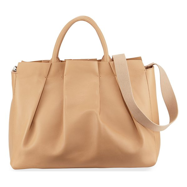 "THE ROW Peggy Pleated Leather Tote Bag - THE ROW ""Peggy"" tote bag in pleated lambskin leather...."