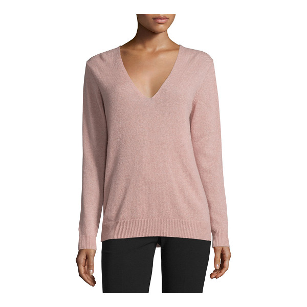 "THEORY Adrianna r. cashmere sweater - Theory ""Adrianna R."" sweater in cashmere. Approx. length:..."
