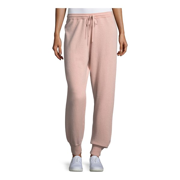 THEORY Cashmere Athletic-Stripe Lounge Pants - EXCLUSIVELY AT NEIMAN MARCUS Theory cashmere lounge pants...