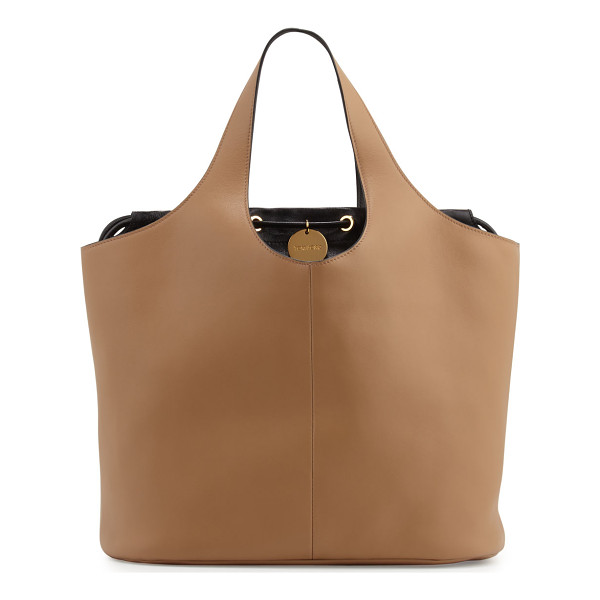 TOM FORD Miranda Medium Tote Bag with Pouch - Tom Ford tote bag in soft, supple calf leather. Integrated