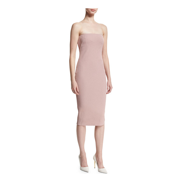 TOM FORD Strapless Tube Dress - Tom Ford stretch-woven dress. Straight-cut strapless...
