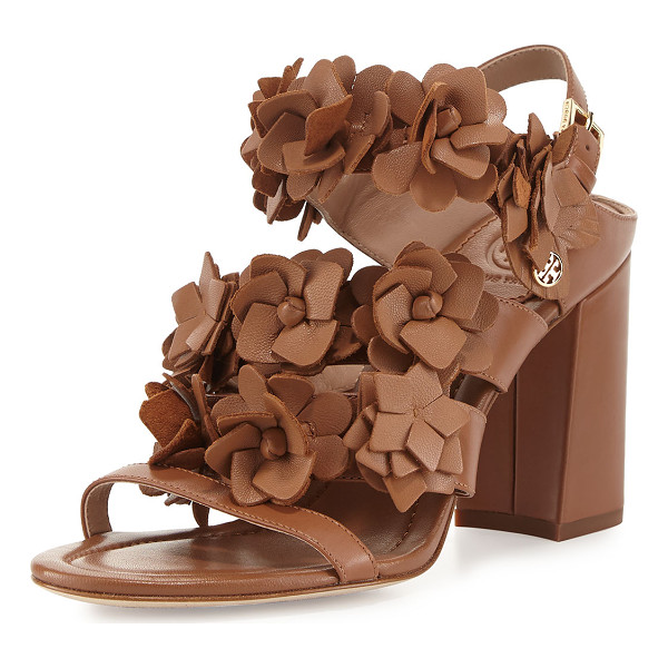 TORY BURCH Blossom Leather 65mm Sandal - Tory Burch napa leather sandal. Available in multiple