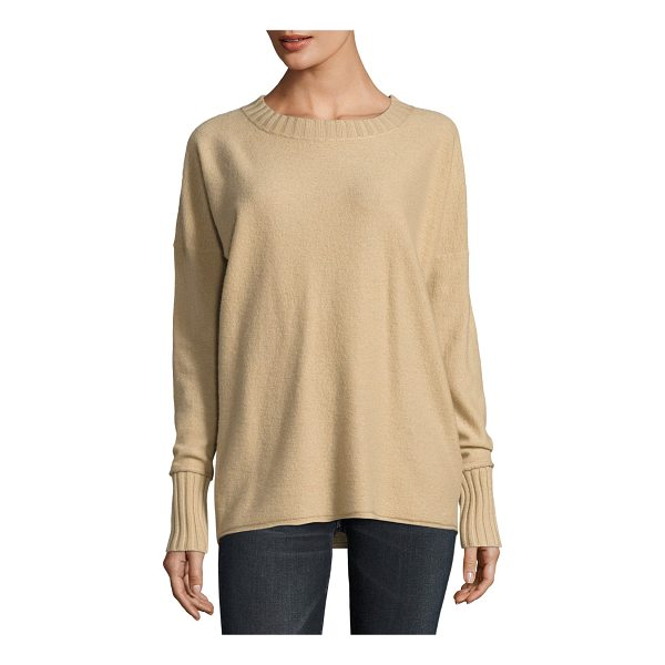 VINCE Cashmere Crewneck Pullover Sweater - Vince cashmere sweater. Ribbed neck, hem, and cuffs. Crew...