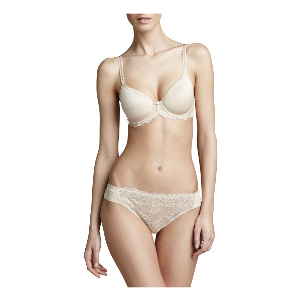 WACOAL Seduction Contour Spacer Bra - Naturally nude. Stretch-foam contour cups, with...