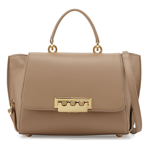 Zac Zac Posen Eartha Folded Gusset Satchel Bag