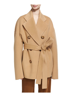 Acne Studios Claar Double-Breasted Wool-Cashmere Coat