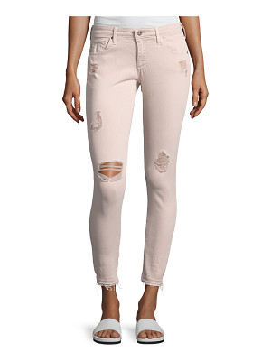 AG Adriano Goldschmied Farrah Skinny Ankle Interstellar Worn Sandalwood Jeans