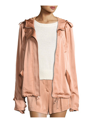 A.L.C. Theo Sateen Utility Jacket