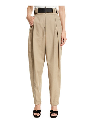 Alexander Wang High-Waist Pleated Trousers