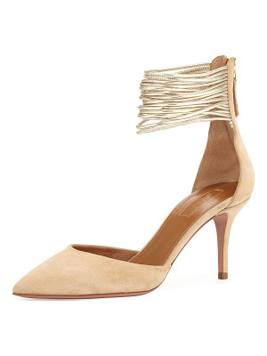 Aquazzura Hello Lover 75mm Pump
