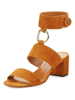 AQUAZZURA Safari Suede 50mm Sandal
