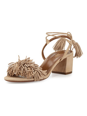 Aquazzura Wild Thing Fringe City Sandal