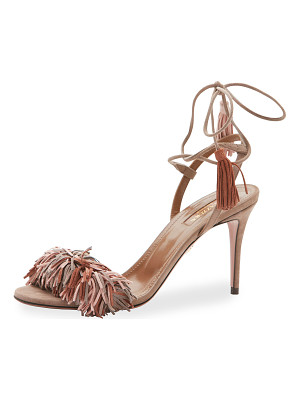 Aquazzura Wild Thing Suede 85mm Sandal