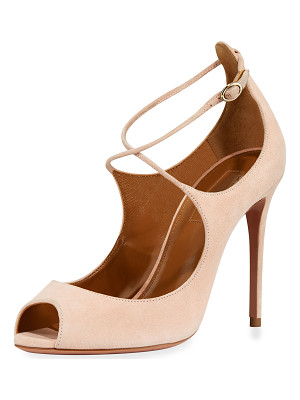 Aquazzura Zani Suede 105mm Pump