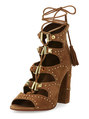 Ash Alexa Studded Lace-Up Sandal