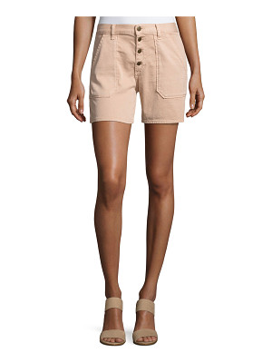 ba&sh Cmira High-Rise Slim-Fit Shorts