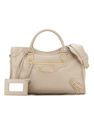 BALENCIAGA Metallic Edge Golden City Bag