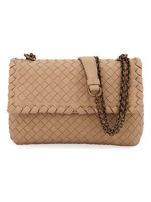 Bottega Veneta Baby Olimpia Intrecciato Leather Shoulder Bag