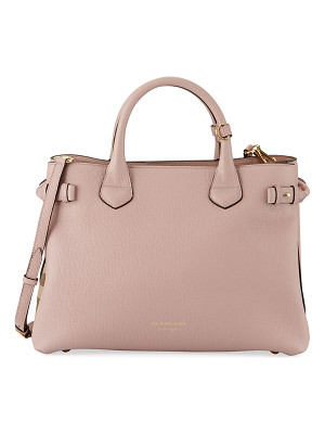 Burberry Banner House Check Derby Tote Bag