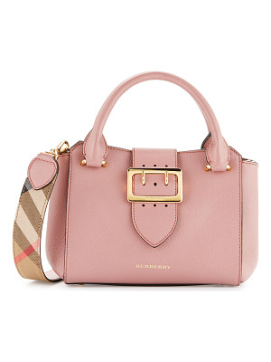 BURBERRY Buckle Small Leather Tote Bag