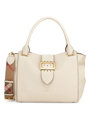 BURBERRY Buckle Medium Tote Bag
