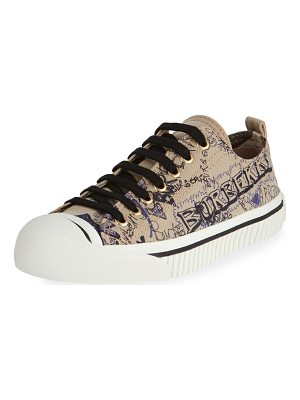 BURBERRY Kingly Low-Top Sketchbook Sneaker