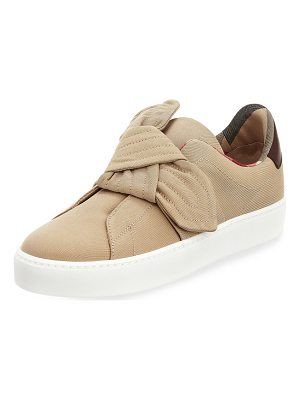 Burberry Westford Fabric Knotted Sneaker