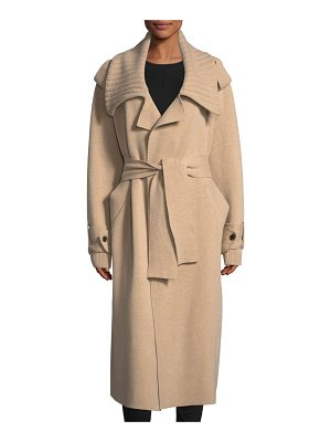 BURBERRY Wool-Blend Long Coat