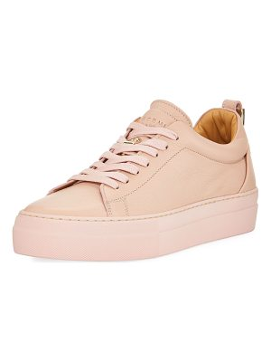 BUSCEMI Alice Calf Leather Platform Tennis Shoe