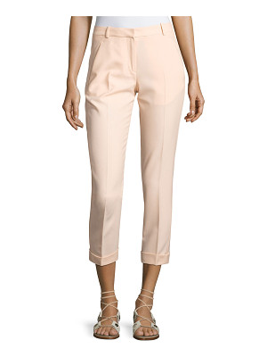 Carven Cropped Crepe Pants