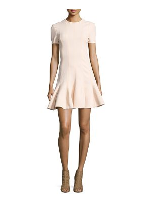 CARVEN Short Sleeve Mini Dress