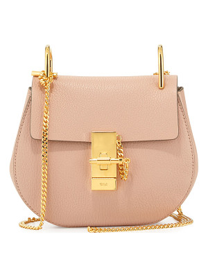 CHLOE Drew Mini Lambskin Shoulder Bag