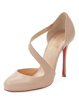 CHRISTIAN LOUBOUTIN Decalcoco Asymmetric Red Sole Pump
