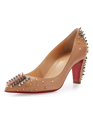 Christian Louboutin Goldopump Spiked Leather Red Sole Pump