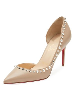Christian Louboutin Irishell Studded Red Sole Pumps