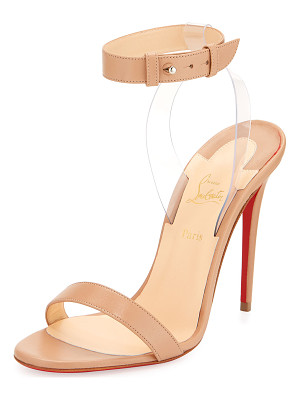CHRISTIAN LOUBOUTIN Jonatina Illusion Red Sole Sandal