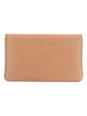 Christian Louboutin Loubiposh Spiked Clutch Bag