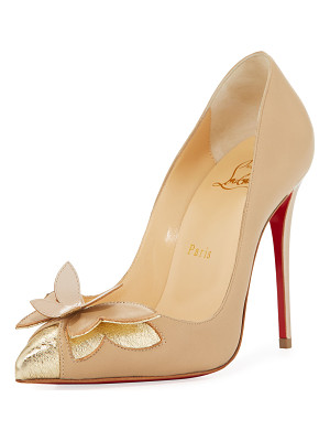 CHRISTIAN LOUBOUTIN Maripopump Butterfly Red Sole Pump