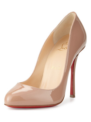 CHRISTIAN LOUBOUTIN Merci Allen Patent 100mm Red Sole Pump