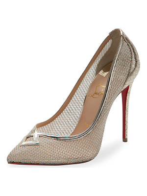 CHRISTIAN LOUBOUTIN Neoalto Mesh 100mm Red Sole Pump