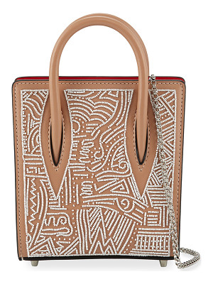 CHRISTIAN LOUBOUTIN Paloma Nano Beaded Tote Bag